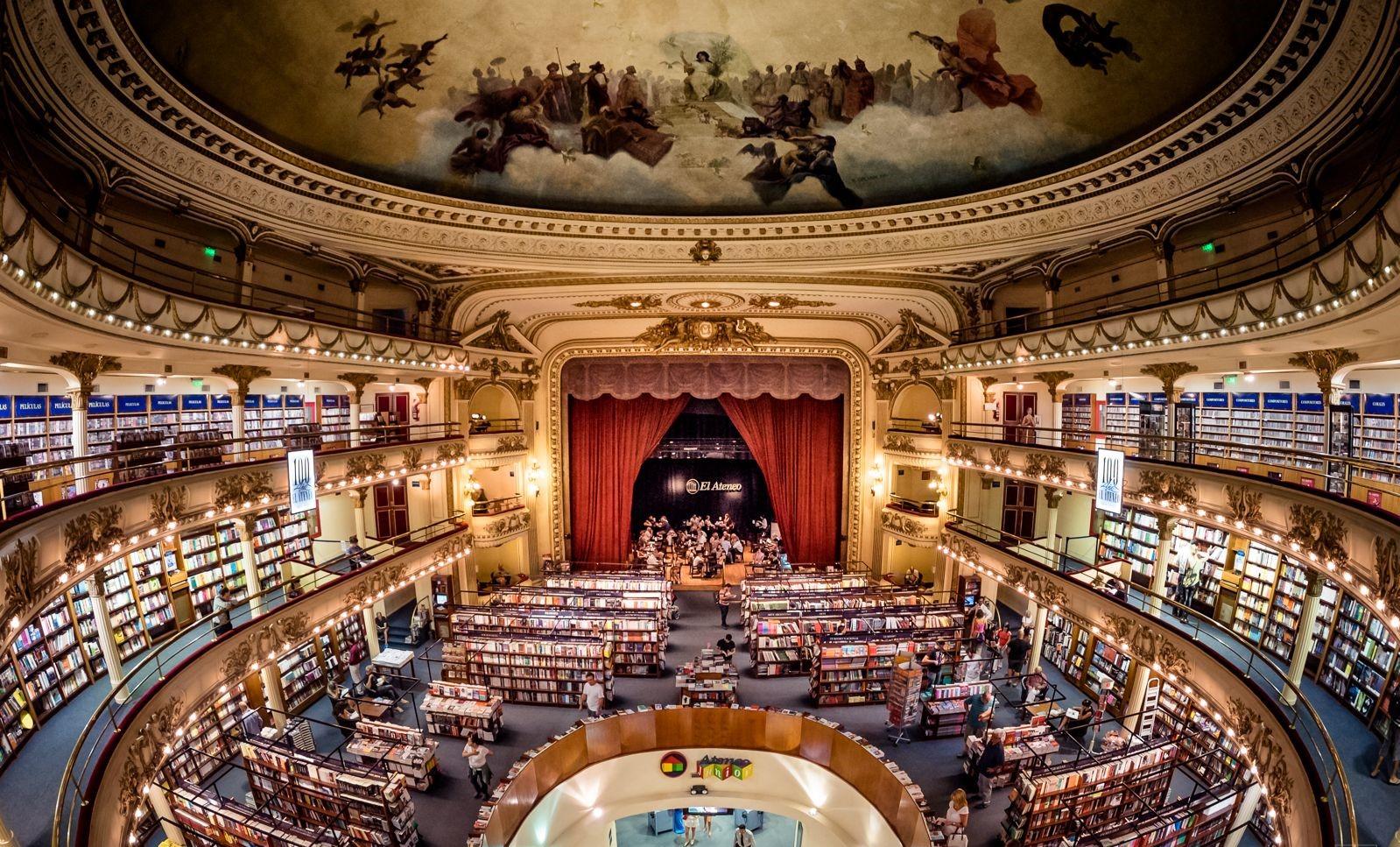 libreria el ateneo gran splendid buenos aires