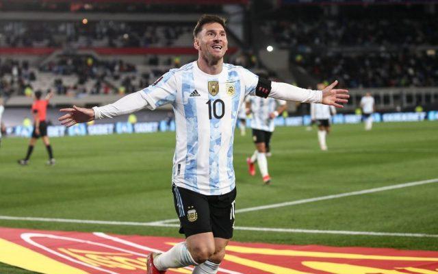 lionel messi record gol nazionale argentina pele