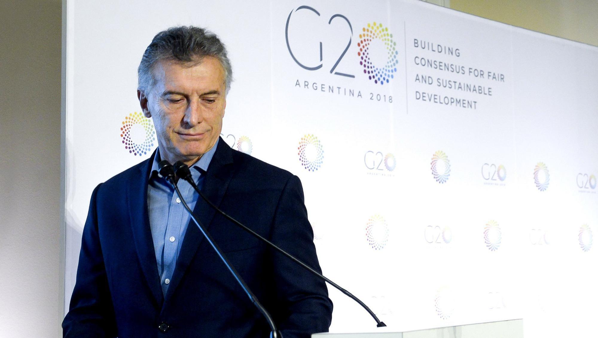 macri g20 argentina crisi