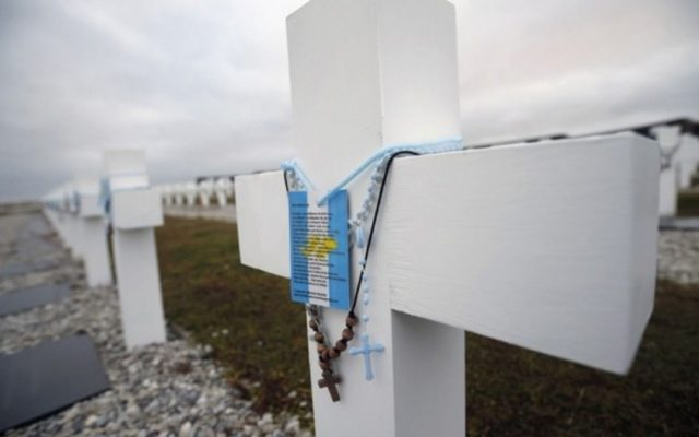 malvinas cimitero darwin identificazione caduti argentina