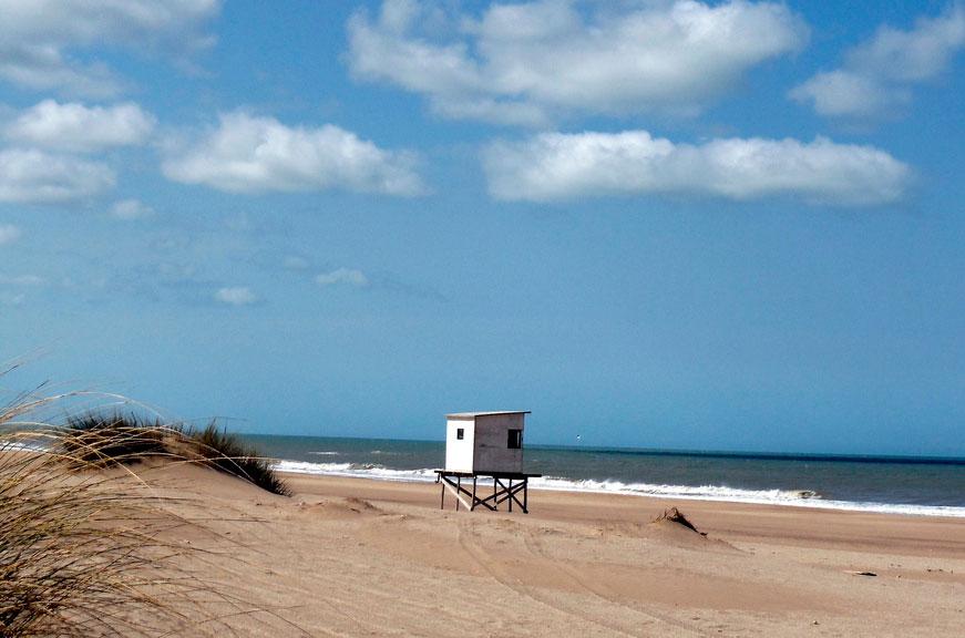 Mar de las Pampas argentina