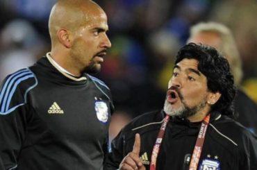 maradona veron motivi lite accuse inghilterra mondiali 2002