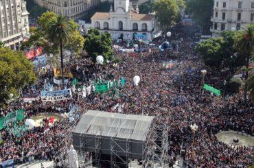 marcia memoria 24 marzo argentina emergenza coronavirus