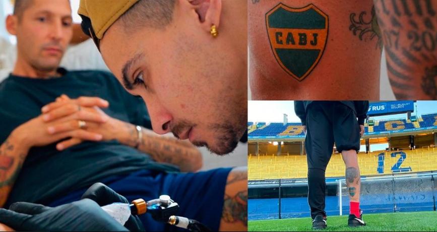 marco materazzi tatuaggio boca juniors bombonera superclasico