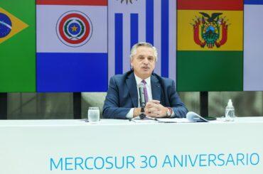 mercosur anniversario 30 anni riforme commercio presidenza argentina