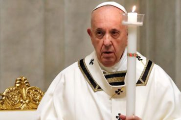messa pasqua 2020 messaggio papa francesco