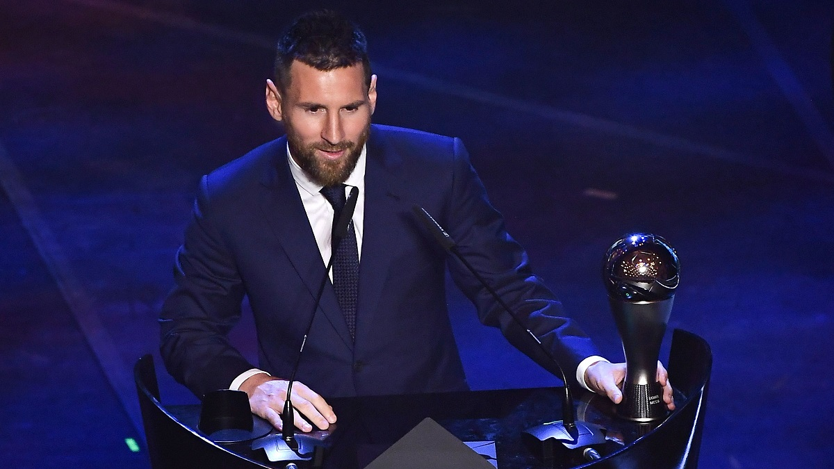 lionel messi best fifa awards 2019