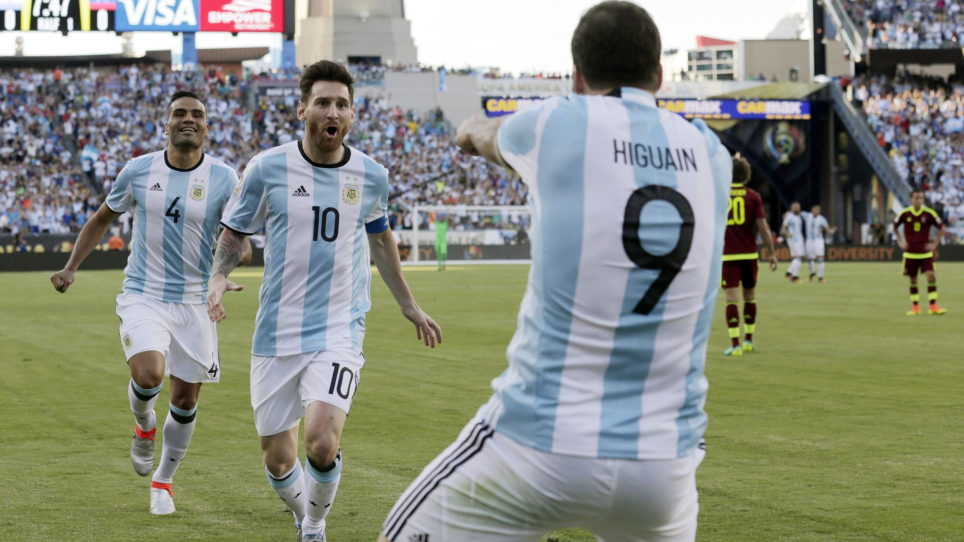 nazionale argentina arechi salerno