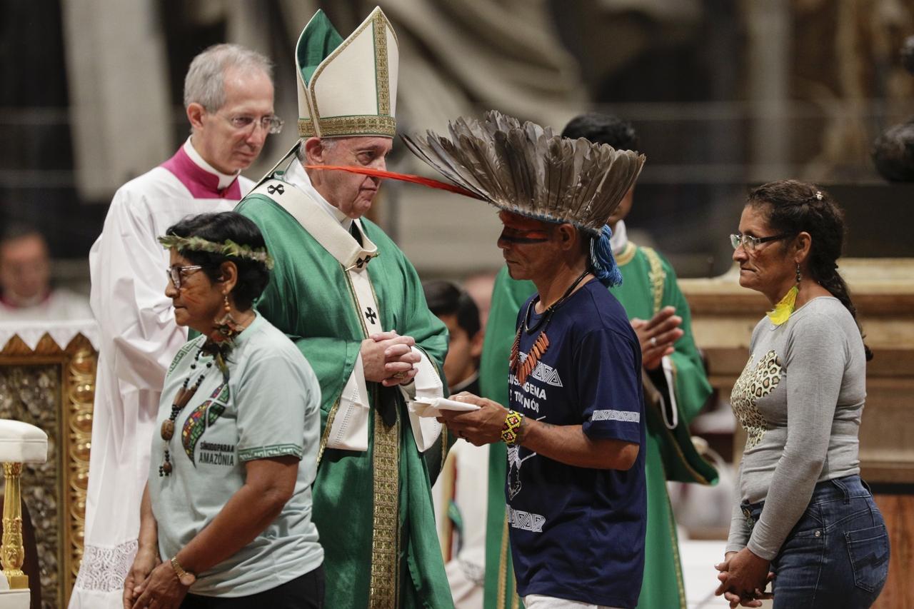 papa francesco sinodo amazzonia
