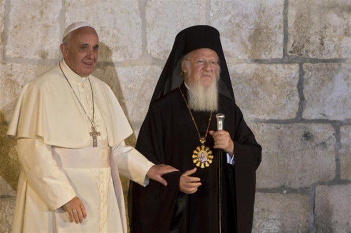 papa francesco bartolomeo bari