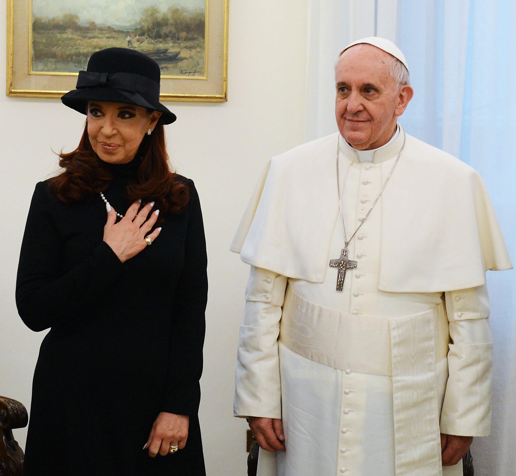 alberto fernandez visita italia papa francesco conte mattarella