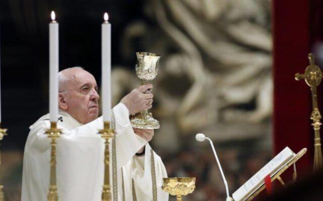 papa francesco sciatalgia te deum messa capodanno