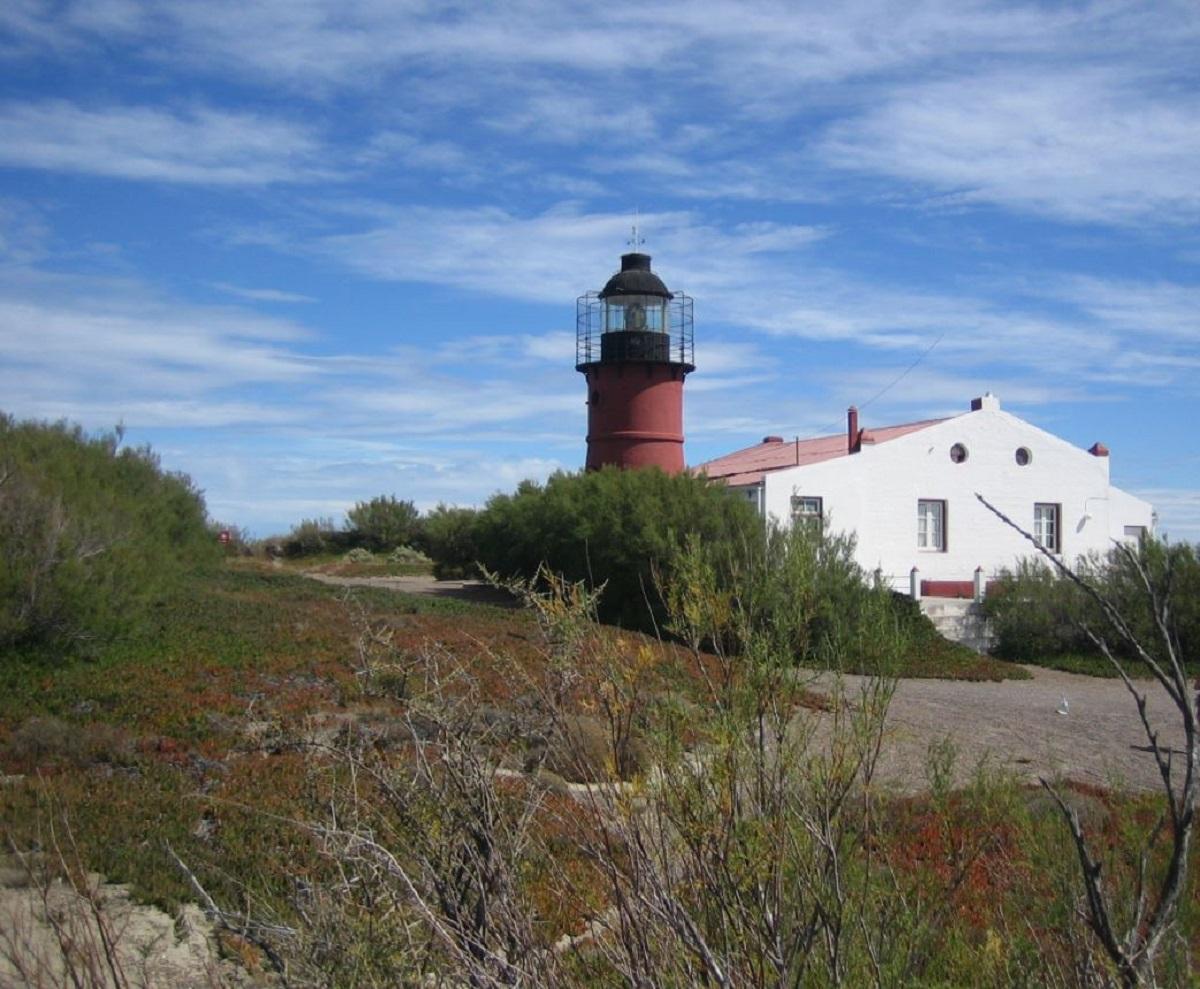 faro punta delgada penisola valdes patagonia argentina