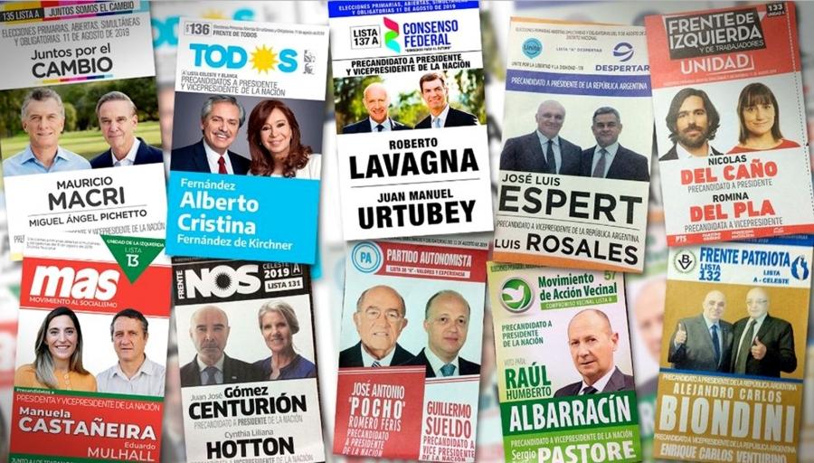 elezioni argentina 2019 primarie paso