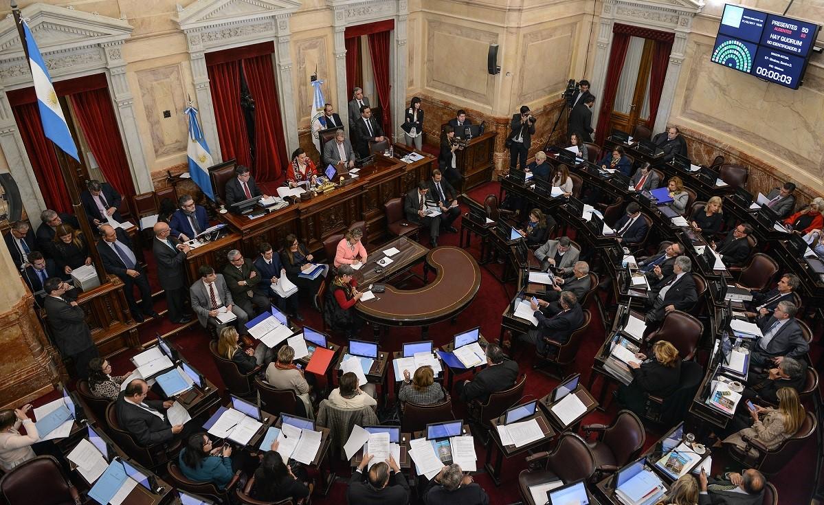 legge bilancio senato argentina
