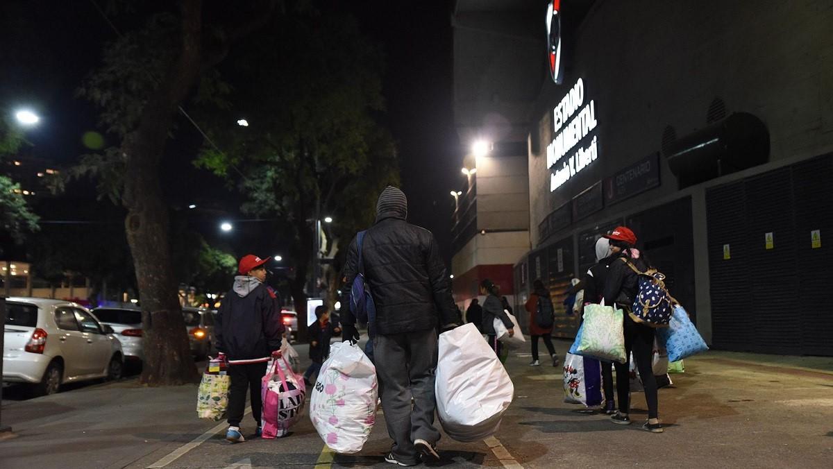 argentina buenos aires freddo povertà senza tetto