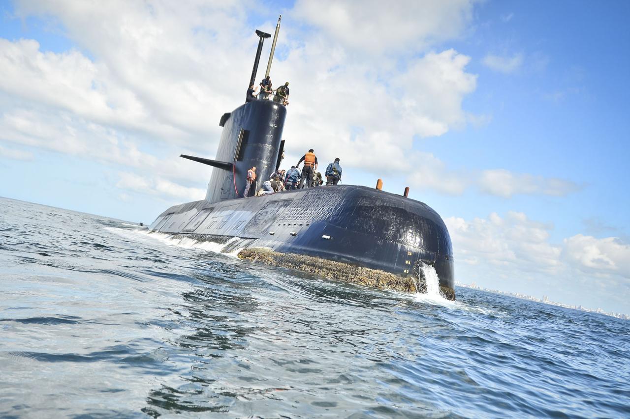argentina sottomarino scomparso