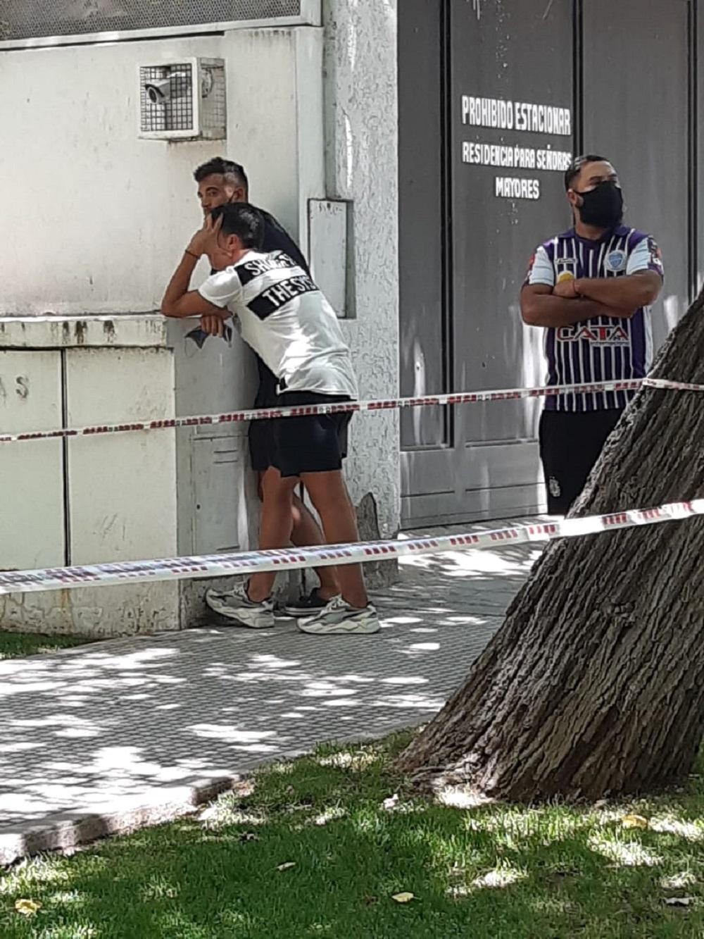 santiago garcía morto suicidio godoy gruz calcio argentina
