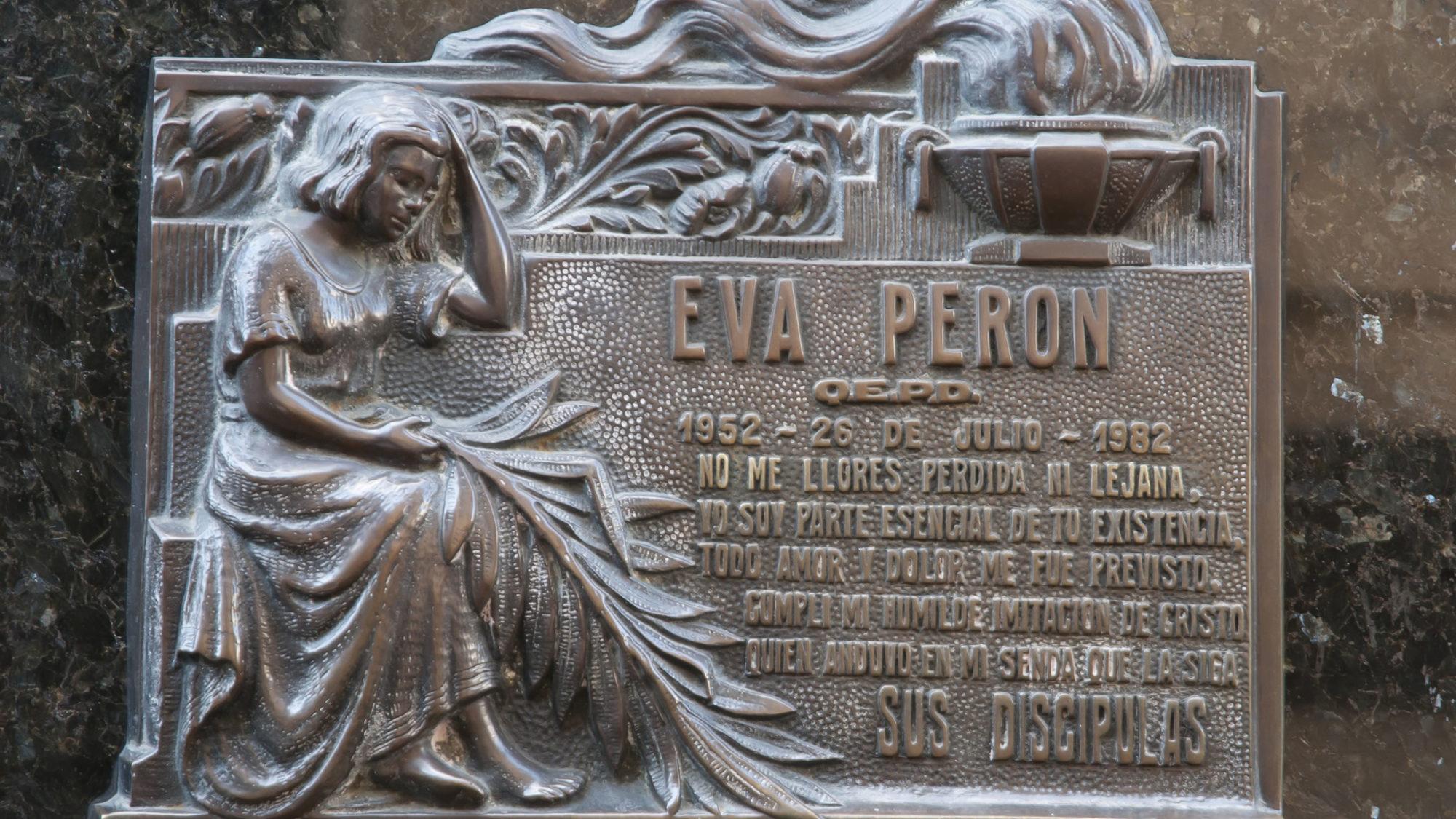 TOMBA EVITA PERON