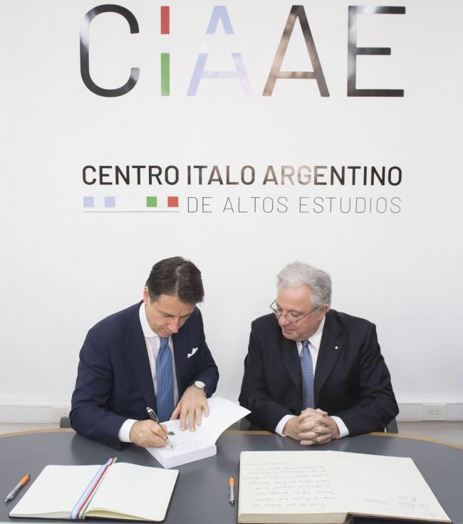 Centro italo-argentino di alti studi uba buenos aires univeristà