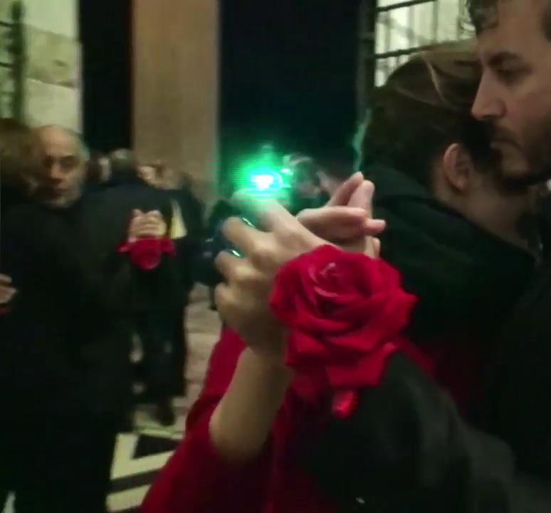 Un tango solidale dalle scarpe rosse roma 2019